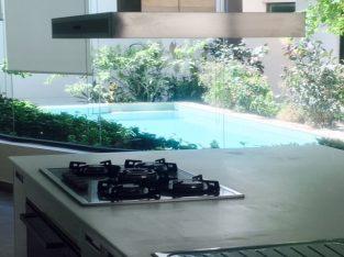 Compound Villa with Pool View Kitchen Saar