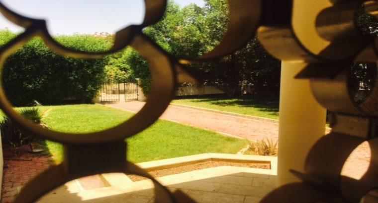 large compound 4BR private villas for rent