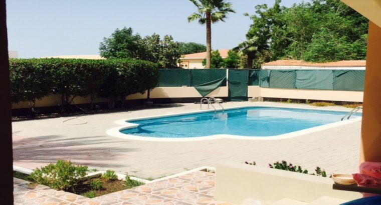 5BR compound private villa for rent near Alosra