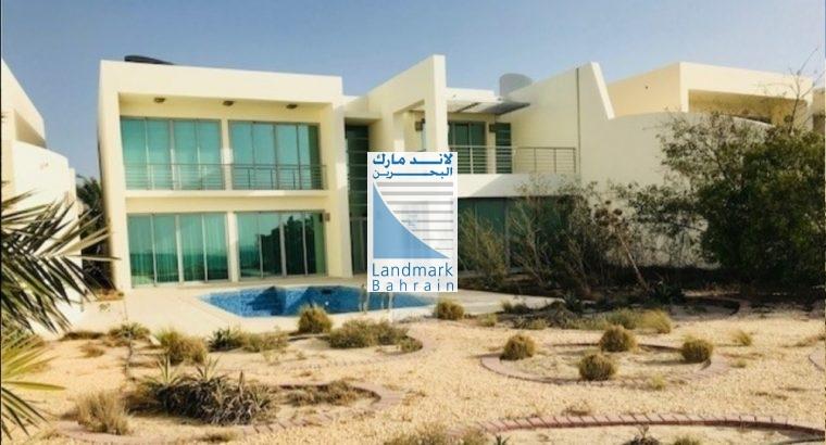 Durrat Bahrain New 5BR Villa Sea Front For Sale