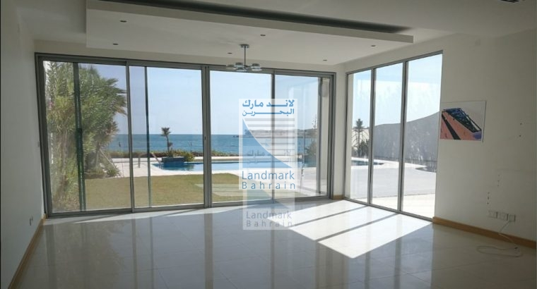 Durrat Bahrain Private Sea Front 5 BR Villa Rent
