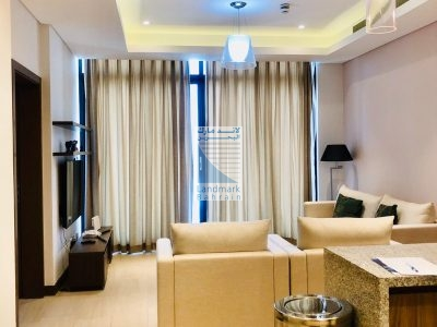 Furnished 1BR Flat with Large Balcony – Rent Seef