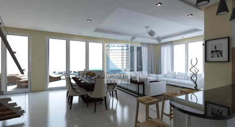 3BR Villa at top of 40 Floors Building in Juffair