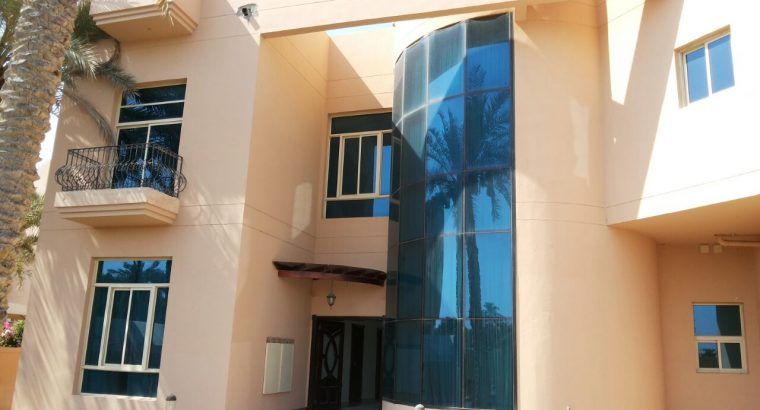 6 BR rarely available compound villa for rent