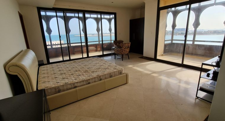 Amwaj 3BR Duplex furnished apartment for rent