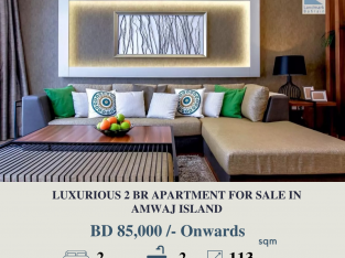 LUXURIOUSE 2 BR APARTMENT FOR SALE IN AMWAJ ISLAND