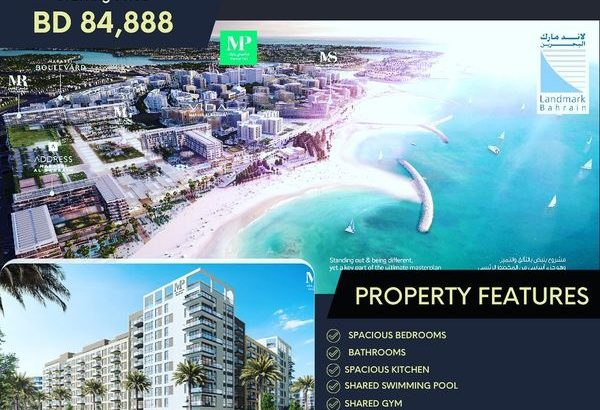 Luxurious Sea Front living, Freehold 1 BR& 2BR &3B