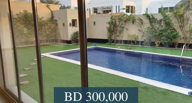4 BR Double Storey Villa for Sale in Saar.