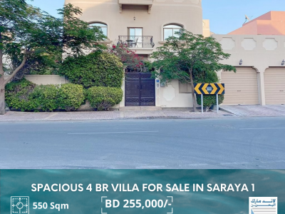 Fully Furnished 4 BR Luxurious Villa For Sale Sara