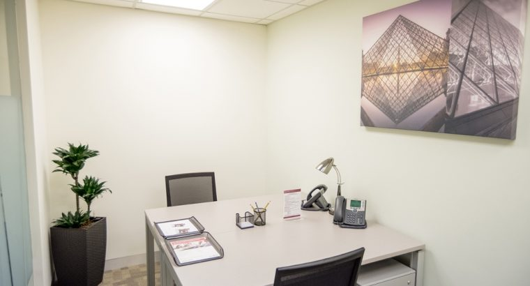 Fully equipped offices with beautiful views